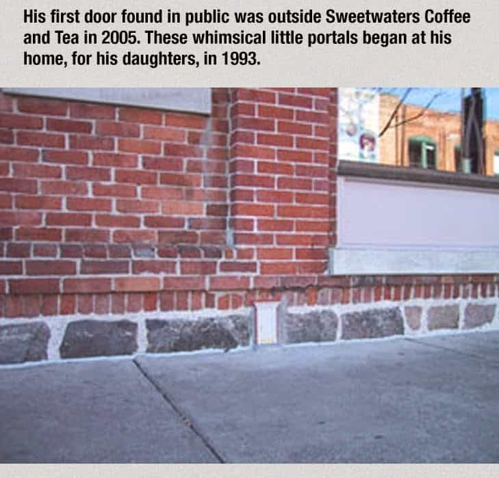 These Secret Tiny Doors Can Be Found All Around This Town. The Reason Why They Built Them Absolutely Brilliant! (2)