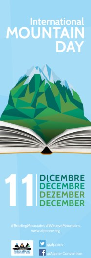 Reading Mountains Bookmark