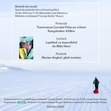 """""""Muntele din Livadă"""" – Cercul Polar (Ed. 1, 30 Ian. 2018)"""