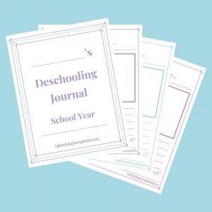 Deschooling Journal - Upper Elementary