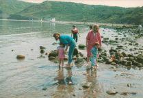 1986 on the beach
