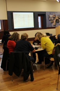Teachers at the National Archives at New York City Learning Center
