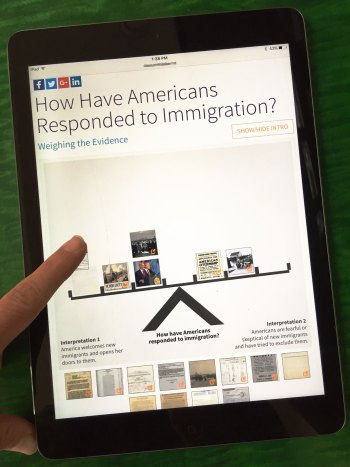 How Have Americans Responded to Immigration? activity
