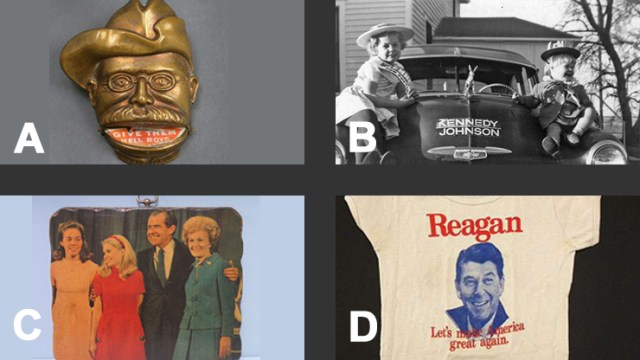 Multiple Choices with Campaign Memorabilia