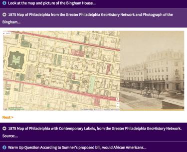 Screen Shot from Enforcing Civil Rights Legislation During Reconstruction