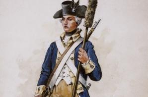 Captain Alexander Hamilton of the Provincial Company New York Artillery