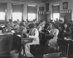 Students in School Room