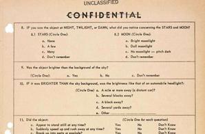 UFO Questionnaire