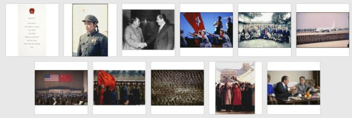 Images from Nixon Visits China activity