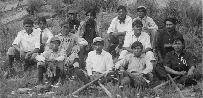 Albuquerque Indian School Baseball Team