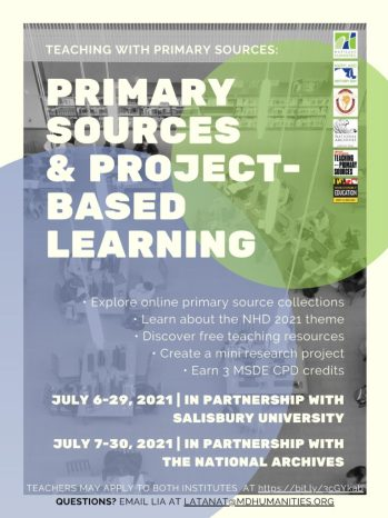 Primary Sources & Project-Based Learning