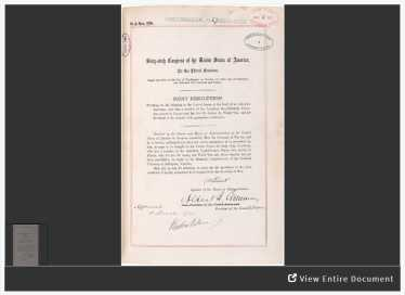 Congressional joint resolution that established the Tomb of the Unknown Soldier