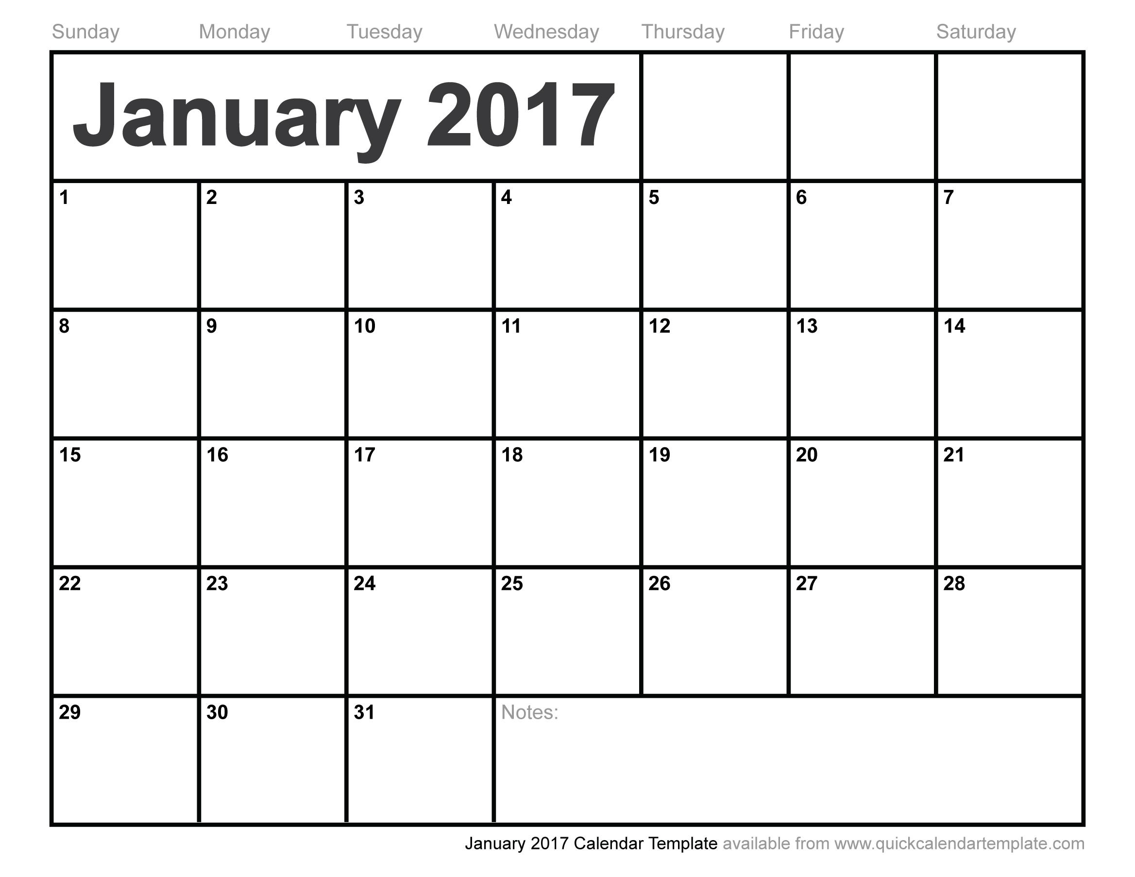 January Calendar Amp Resources