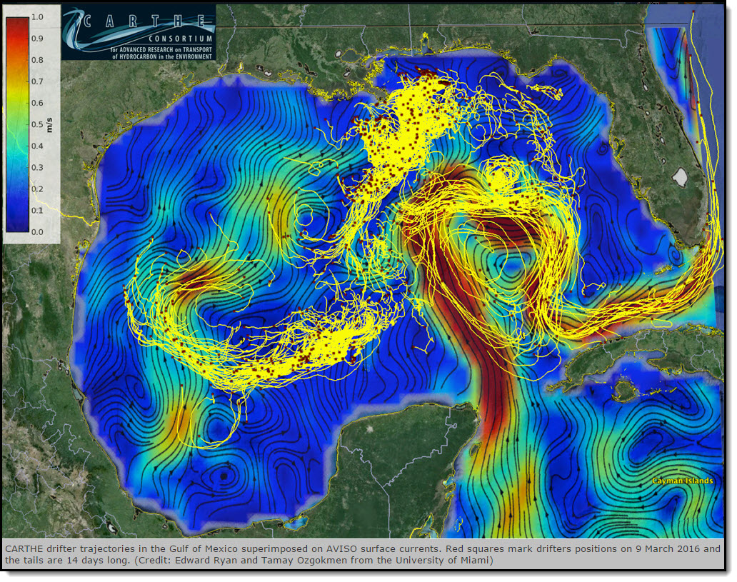 Laser Focus Advances Knowledge Of How Gulf Of Mexico Water