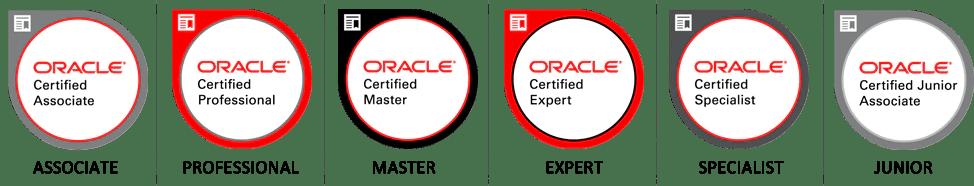 Certification Badges Oracle University Oracle University