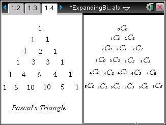 Classroom Activities Expanding Binomials
