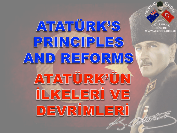 AAKM - Ataturk Principles and Reforms - 1 Title Page