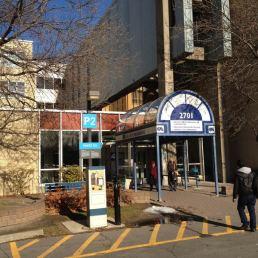 L'entrée par 2107 rue Nicolet est facile d'accès