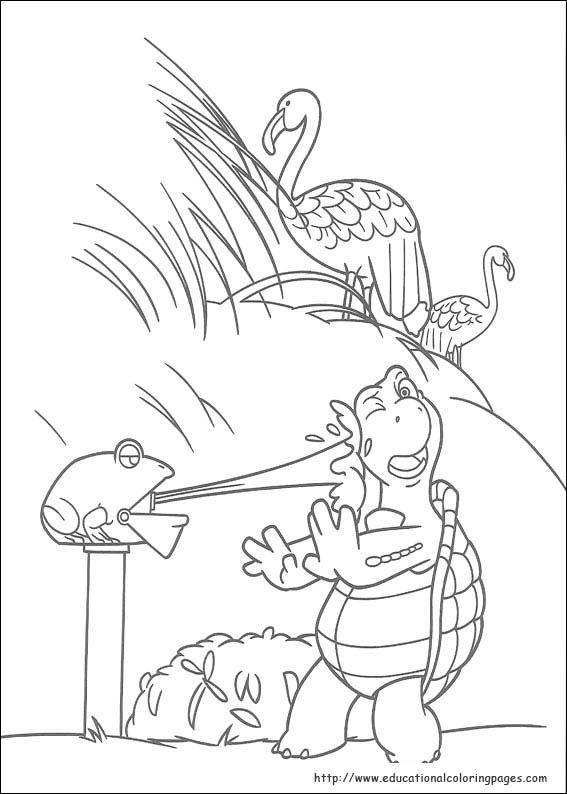 Over The Hedge Coloring Educational Fun Kids Coloring Pages And Preschool Skills Worksheets