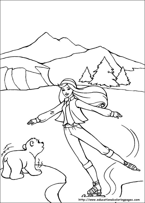 Barbie Princess and Pauper Coloring Pages | Barbie coloring pages ... | 794x567