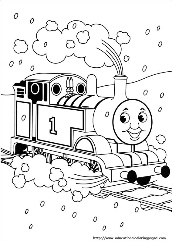 Thomas And Friends Coloring Pages Emily Thomas And Friends Snow