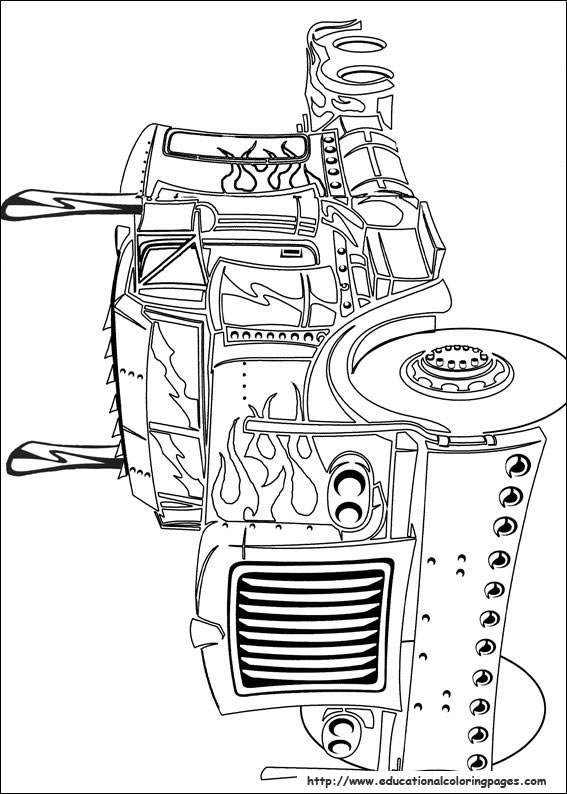 educational fun kids transformers coloring pages and preschool