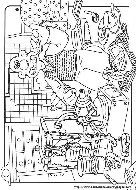 Wallace And Gromit Coloring Pages Educational Fun Kids