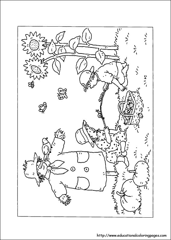 free coloring pages of nature