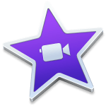 iMovie software application logo