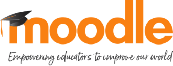 """Moode in orange letters wearing a graduation cap. Caption """"Empowering educators to improve our world"""" below the logo."""