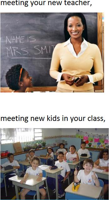 meet ur new teacher