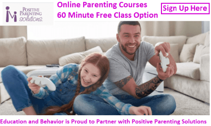 online course in positive parenting