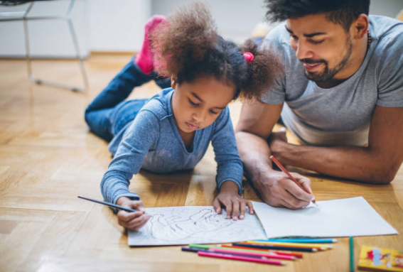 arts & crafts to reduce anxiety and depression in kids