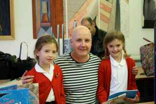 richard with caitlin and lucy