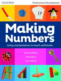 making numbers using manipulatives to teach arithmetic