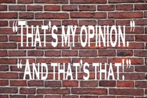 opinion-wall