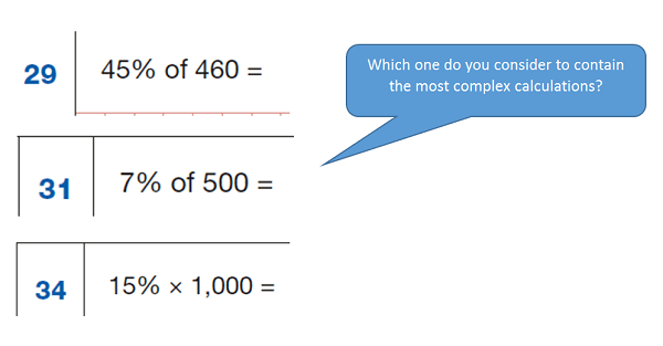 maths mastery example