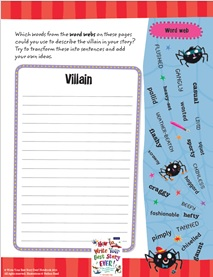 how to write your best scary story oxford education blog creating a villain character profile creating a villain description how to write your best story