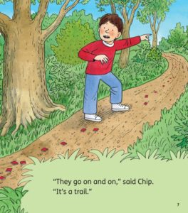the mosaic trail biff chip and kipper