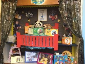 Abbey Catholic Primary school book corner