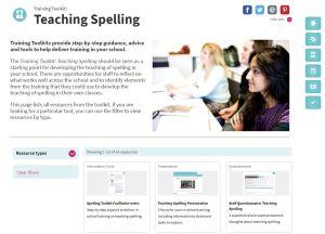 teaching spelling toolkit
