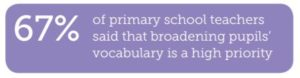 broadening pupil vocabulary statistics