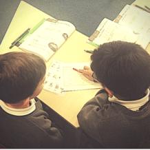 Read Write Inc. Model School partner work in Read Write Inc. group
