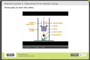 Image of apparatus screen