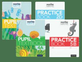 Inspire Maths Pupil Books