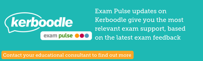 Kerboodle examiner reports support