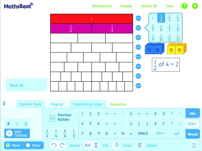 MathsBeat IWB tool