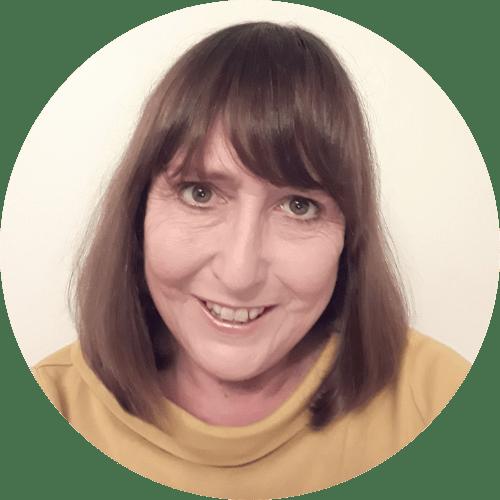 A headshot image of Sue Cowley