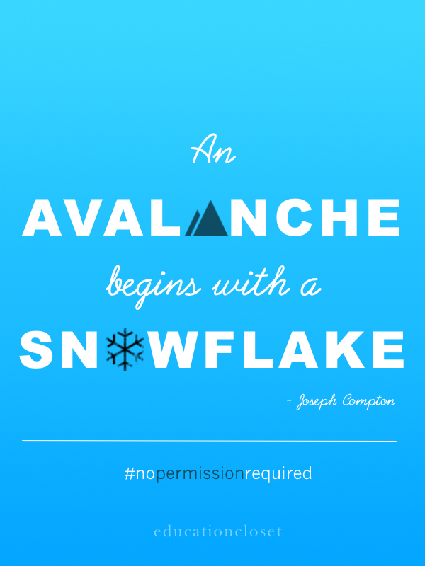 avalanche and snowflake