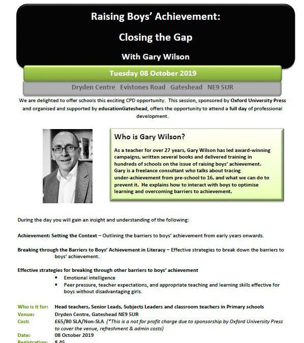 Raising Boys' Achievement: Closing the Gap